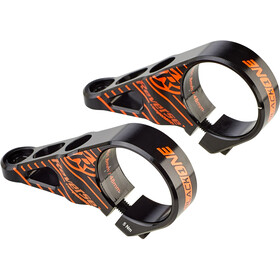 Reverse Black One Stuurpen Ø31,8mm Direct Mount, black/fox orange